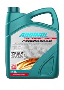 Uleiuri de motor ADDINOL PROFESSIONAL 0530 E6/E9