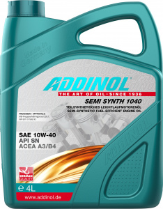 Uleiuri de motor ADDINOL SEMI SYNTH 1040